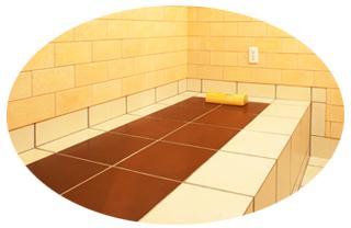 陶板の床タイル