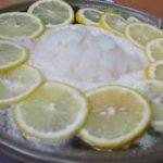レモン鍋と春菊